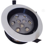 LED Downlights Recessed High Power Black Ceiling Light