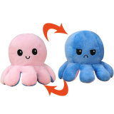 Overturn Plush Octopus Toys Pulpo Reversible