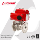 Stainless Steel Electric Flange Ball Valve