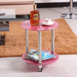 Tempered Glass Side Table to Manage Sundries