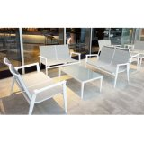Chinese Supplier Aluminum Frame Outdoor Garden Dining Furniture for Project