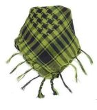 New Military Shemagh Scarf Arab Chequered Arafat Keffiyeh Tactical Desert Wrap Green