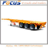 40t Payload Heavy Skeleton Container Chassis Truck Semi Trailer
