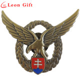 Factory Custom 3D Antique Hard Enamel Military Casting Lapel Pins