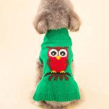 Design Cute Quality Knitting Christmas Dog Sweater Pet Dress