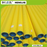 Yellow Color Welding Connection Dn20mm-Dn630mm HDPE Pipe MDPE Gas Pipe PE80