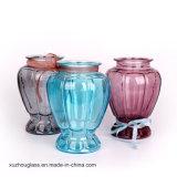 Wholesale Cheap Colored Glass Vase Flower Vase