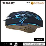 2400dpi 6 Buttons Adjustable Optical Wired Gaming Mouse