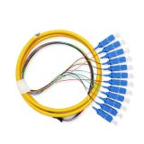 Shandong Huaxin FC/APC FC/Upc Fiber Optic Patch Cord with Factory Direct Price 2m 3m 5m Network Cable