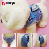 Printed Elastic Cloth Dog Harness Vest Jeans Pet Products