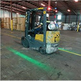 LED Blue/Red Zone Forklift Laser Warning Light on Electric Trucks