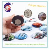 Crystal Glass Fridge Decorated with Magnet Sticker DIY Customized Travel Souvenir Gift
