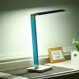 LED Desk Lamp--Touch Switch; 5 Level Color Temp & 7 Level Brightness; Rechargeable & Adjustable