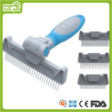 Head Changeable Comb Dog Slicker Brush Pet Brush