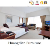 Simple Wooden Hotel Bedromm Furniture Sets (HD017)