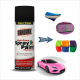 Aeropak Good Quality All Purpose Chrome Glod Florescent Aerosol Acrylic Color Spray Paint for Wood/Glass/Car/Wall/Metal