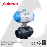 PVC Ball Valve with Pneumatic Actuator