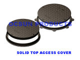 Round Manhole Cover Solid Top