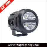 "High Power 3.2"" 20W Round CREE Motorcycle LED Work Lights"