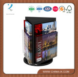 Customized Design Rotatable Counter Brochure Display Stand