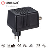 65.5*51.5*42mm Hi-Q 7W AC DC CATV Adapter with Ce