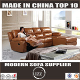 Multi-Functional L Shape Leather Sofa (Lz6005L)
