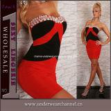 Diamond Fashion Clubwear Evening Party Mini Cocktail Girls Dress (2419)