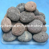 Pumice Powder, Naturan Lava Rock, Red and Gray White Color
