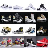 Hot Sale Brand Classic Graffiti Inkjet Limited Edition Canvas Shoes