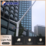 Y Shape Wind Resistant Stainless Steel Street Light Post for Shopping Mall