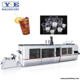 Automatic PLA PP Pet Tilt Mold Plastic Cup Thermoforming Making Machine