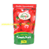 Sunon Brand Tomato Paste with 28-30% Concentrate in Self-Standing Pouch