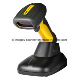 Icp-E1202 2D Wireless Industrial Rugged Barcode Scanner for Industry/Commerce/Medical/Payment with Ce/FCC/RoHS