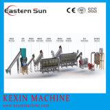 Automatic Plastics PP PE PVC Pet Bottle Sheet Profile Films Crushing Cleaning Drying Machine