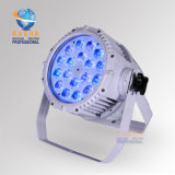 White Case Quad Waterproof 18*10W 4in1 RGBW LED PAR Light Alunium LED PAR Projector for Outdoor TV Studio Event