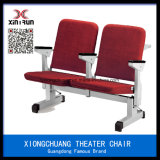 Modern Red Fabric Factory Price Auditorium Moveable Seating