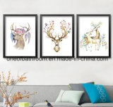 Deer Picture Bring Good Luck for Wall Decoration