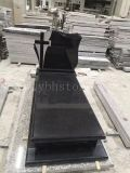 Black Granite Monuments/Tombstone for Europe Styles