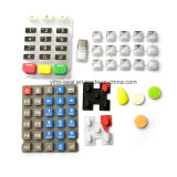 Black/Blue/Red/White Rubber Buttons and Siliconer Keypad