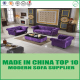 UK Style Furniture Classic Button Tufted Fabric Sofa