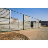 Es-Sf-Sy143 Chilean Wind & Dust Barrier System High Steel Fence
