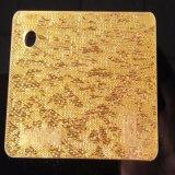 Cloth-Gold Acrylic Plastic PMMA Board