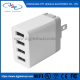 4-Port USB Plug Charger 3.4A Charging Station for Smartphone, Tablet