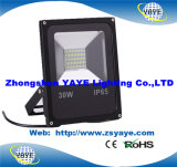 Yaye 18 Best Sell USD8.26/PC Full Watt SMD 30W LED Flood Light/ 30W SMD LED Flood Light with 2 Years Warranty/Ce/RoHS