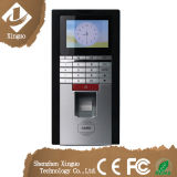 RFID Android Biometric Fingerprint Time Attendance Access Control with TCP/IP
