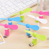 Universal 2 in 1 Mini Portable Micro USB Fan for Android and iPhone