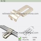 Nickel Plated Metal Joint SUS/ABS/PE Coated Pipe (H-10)