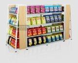 Unique Steel and Wood Display Storage Rack Supermarket Shelf with Best Price