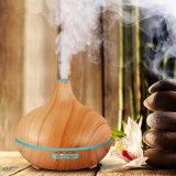 300ml Wood Grain Electric Aromatherapy Diffuser Humidifier