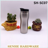 450ml Auto Seal Double Wall Stainless Steel Auto Mug (SH-SC07)